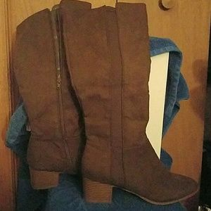 Brand new Style and Company tall boots